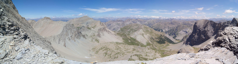 Vue du Mont Pelat