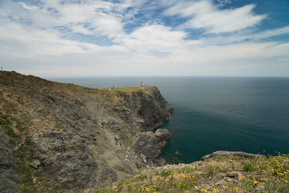 La côte rocheuse des Albères