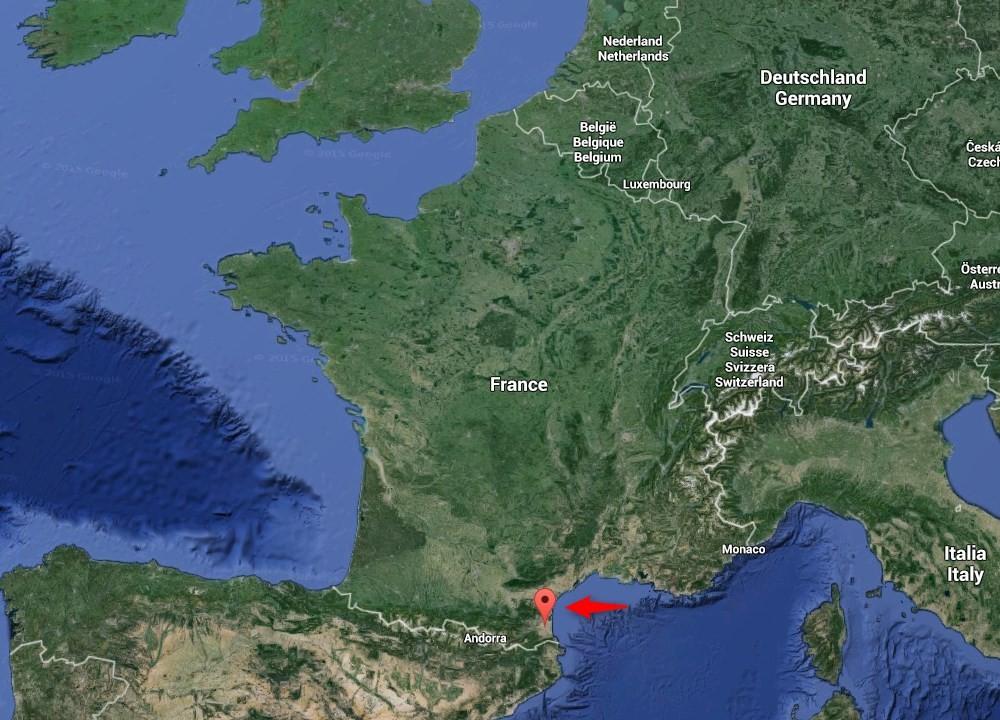 Le littoral du Roussillon