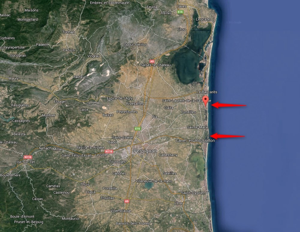 Torreilles-Plages et Canet-en-Roussillon