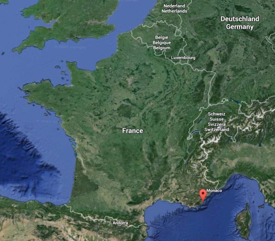 Situation géographique du Var